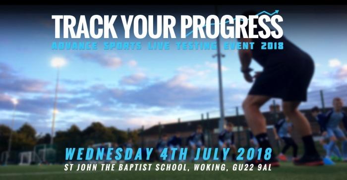 Advance Sports Live Testing Event 2018 - Wednesday 4th July 2018, St John the Baptist School, Woking, GU22 9AL